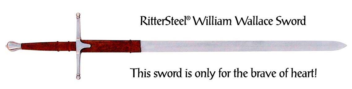 The William Wallace Claymore Sword