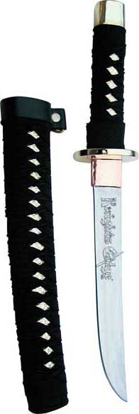 Golden Warrior Samurai Tanto