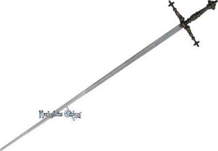 Italian Decorator Templar Sword